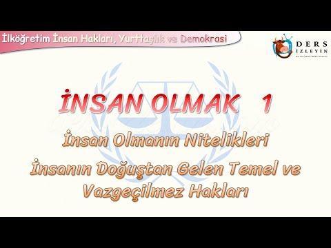 İNSAN OLMAK - 1