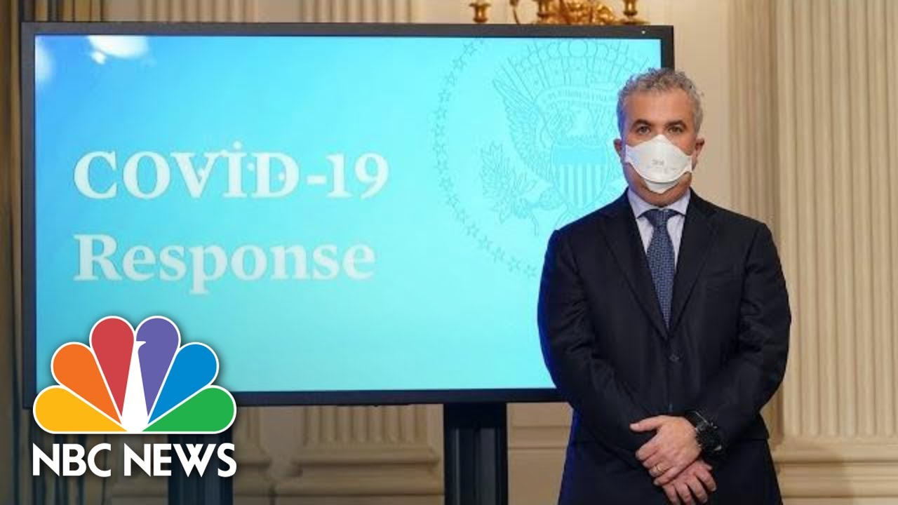 White House Covid-19 Response Team Holds Briefing   NBC News