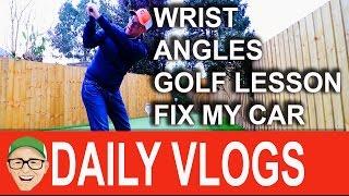 Wrist Angle Slice Golf Lesson CARRRR