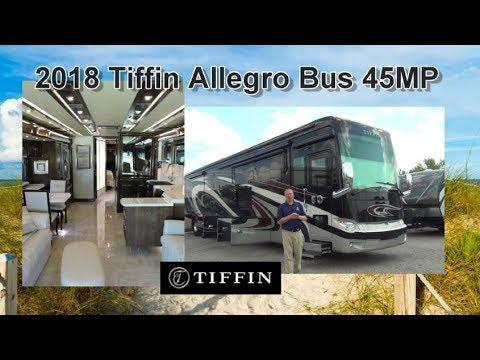 NEW 2018 Tiffin Allegro Bus 45MP | Mount Comfort RV