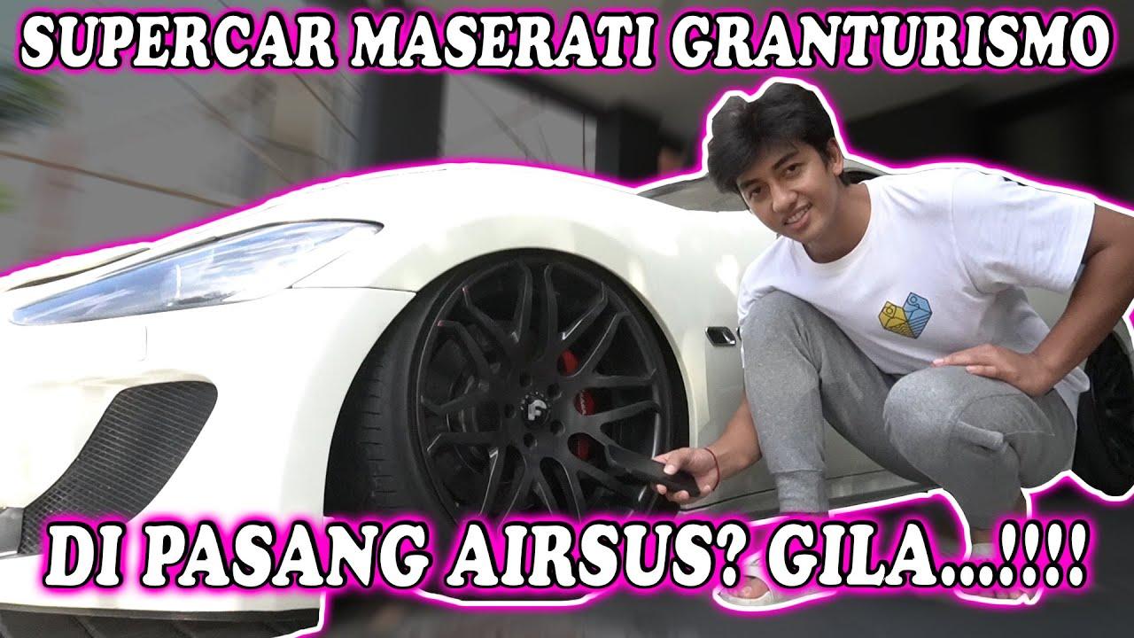 SUPERCAR MASERATI GRANTURISMO...DI PASANG AIRSUS? GILA...!!!!