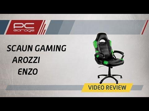PC Garage – Video Review Scaun De Gaming Arozzi Enzo