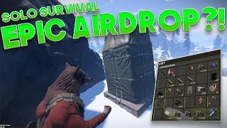 Video SNATCHING AN AIRDROP?! | Rust SOLO SURVIVAL download MP3, 3GP, MP4, WEBM, AVI, FLV Desember 2017