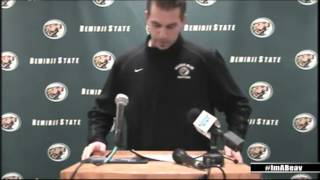 Bemidji State Soccer 2014 Signing Day Opening Statement (Feb. 5, 2014)