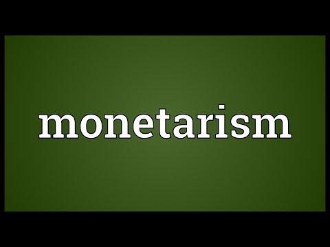 Header of monetarism