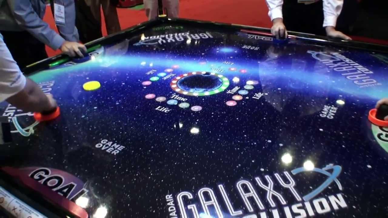 Galaxy Quad Air Hockey Table   BOSA 2014 Gold Medal Winner   Sports Games    BMIGaming   Barron Games   YouTube