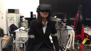 腕振り機構によるVR酔い軽減 - 首都大学東京 池井研究室