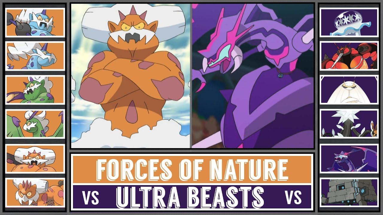 Epic Pokémon Battle: FORCES OF NATURE vs ULTRA BEASTS
