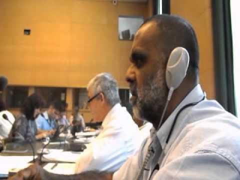 OSTF representatives at United Nations in Geneva july 2012