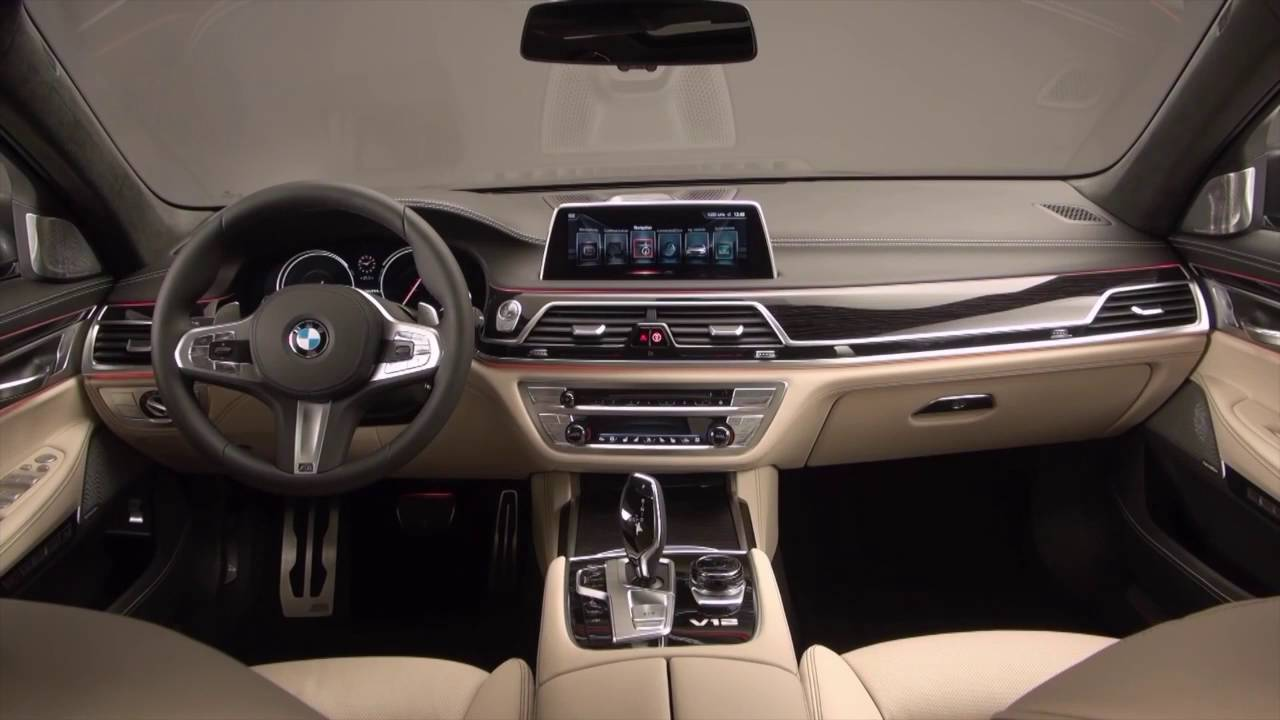 2017 Bmw 760 Li Interior Youtube