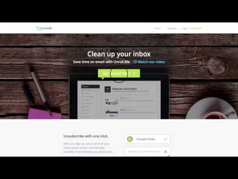 Easily Unsubscribe from All Unwanted Email Lists at Once with Unroll.me
