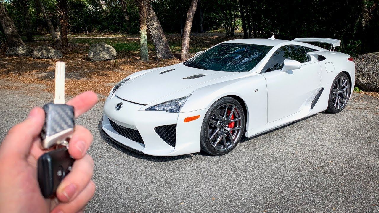 What It's Like To Drive A Lexus LFA! POV DRIVE *INSANE EXHAUST*
