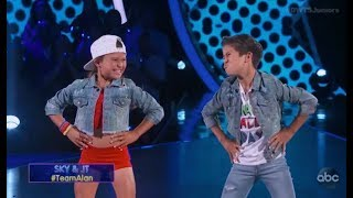 Sky Brown & JT Church - Dancing With The Stars Juniors (DWTS Juniors) Episode 1
