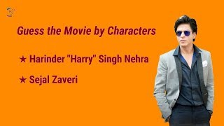 Guess the Shahrukh Khan Movie by Characters | Ready For the Challenge