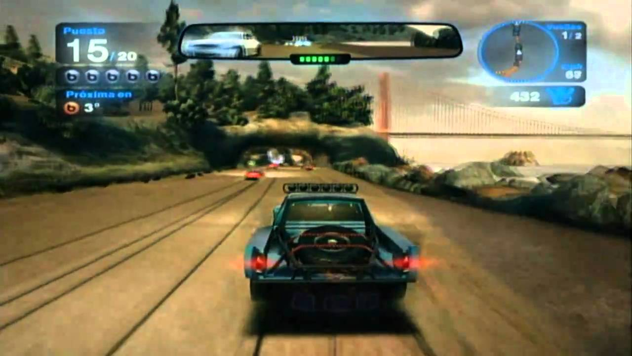 Fuse Xbox 360 Gameplay : Blur gameplay xbox hd youtube