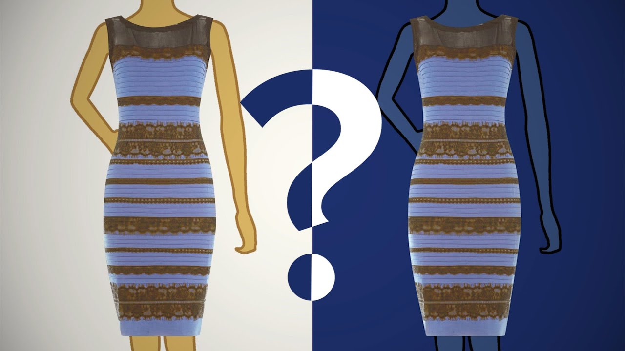 The color of the dress according to science youtube for What color do you like