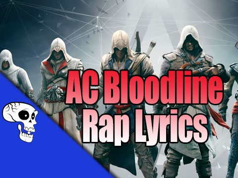 Assassin's Creed Bloodline Rap | Lyric Video | by JT Music