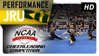 NCAA 91 Cheerleading Competition: JRU Bombers Pep Squad