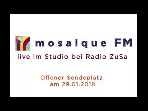 mosaique FM live im Studio bei Radio ZuSa