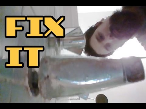"""Bathroom Faucet Is Loose quick fix"""" for a loose tub spout - youtube"""