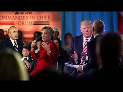 Commander in Chief Forum Recap and Reaction — 9.07.16 #NBCNewsForum
