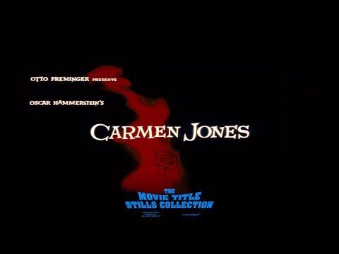 Saul Bass: Carmen Jones (1954) title sequence
