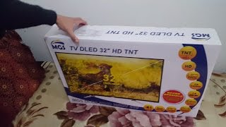 Unboxing mgs tv 32 hd