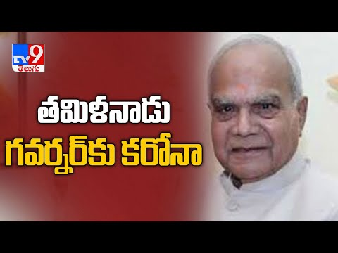 Tamil Nadu governor Banwarilal Purohit tests positive for COVID 19 - TV9