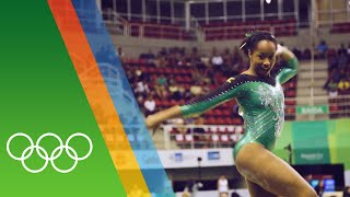 Gymnastics in Rio - A day in the life of Toni-Ann Williams [JAM]