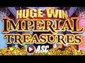 ★ HUGE BIG WIN! ★ IMPERIAL TREASURES (PART 2 of 2) | BALLY - Slot Machine Bonus
