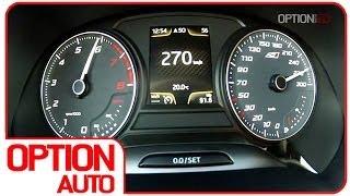 0-270 km/h : Seat Leon Cupra 280 (Option Auto)
