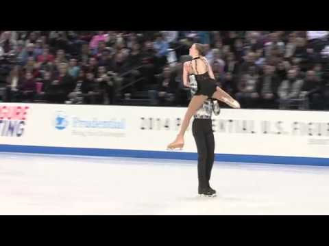 2014 US Nationals Juvenile Pairs - Megan Stenman