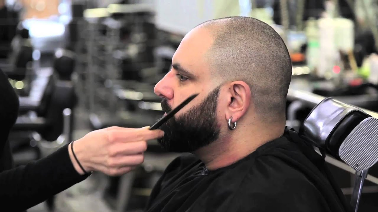 Exceptionnel Lissage et maquillage de barbe - YouTube QS38