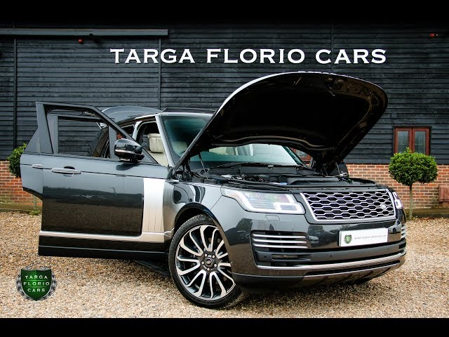 Land Rover Range Rover 4 4 Sdv8 Autobiography 4dr Automatic In