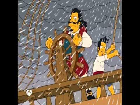 Los Simpson - Galeón Español / The Simpsons - Spanish Galleon