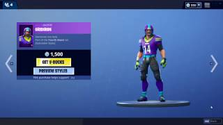 *NEW* FORTNITE ITEM SHOP // CHEER UP EMOTE AND FREE RUGBY BALL TOY