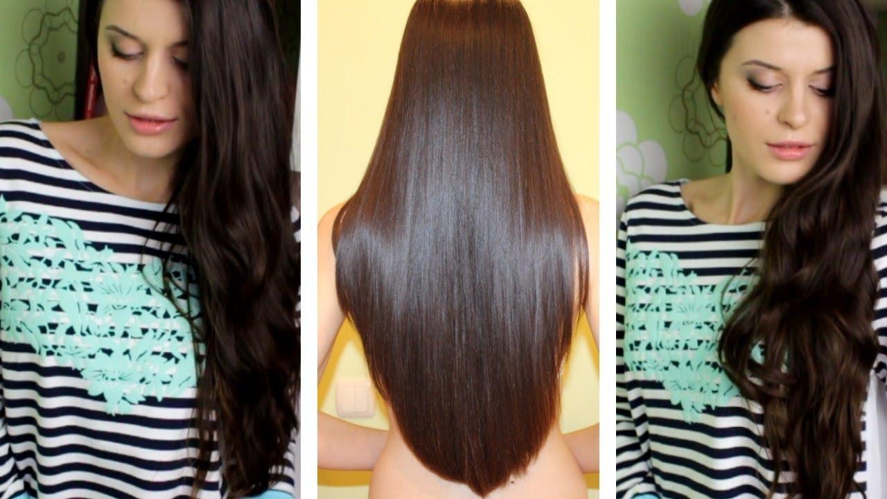Как отрастить за год волосы