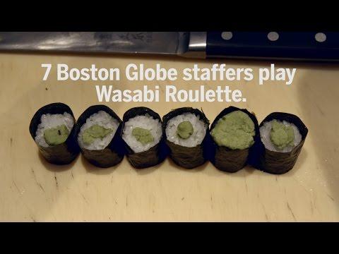Seven April fools brave 'Wasabi Roulette'