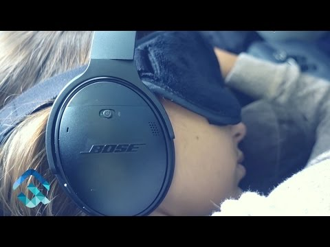 Best Noise Cancelling Headphones For Traveling : Bose QC35