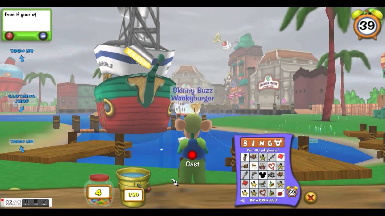 Toontown rewritten fishing glitch doovi for Toontown fishing guide