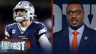 Dallas Cowboys made a mistake dragging out Dak's contract — Chris Canty | NFL | FIRST THINGS FIRST