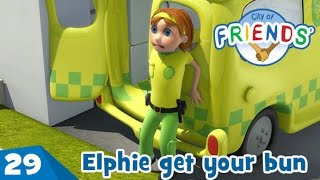 "Clip from episode 29 ""Elphie get your bun"" - City of Friends"