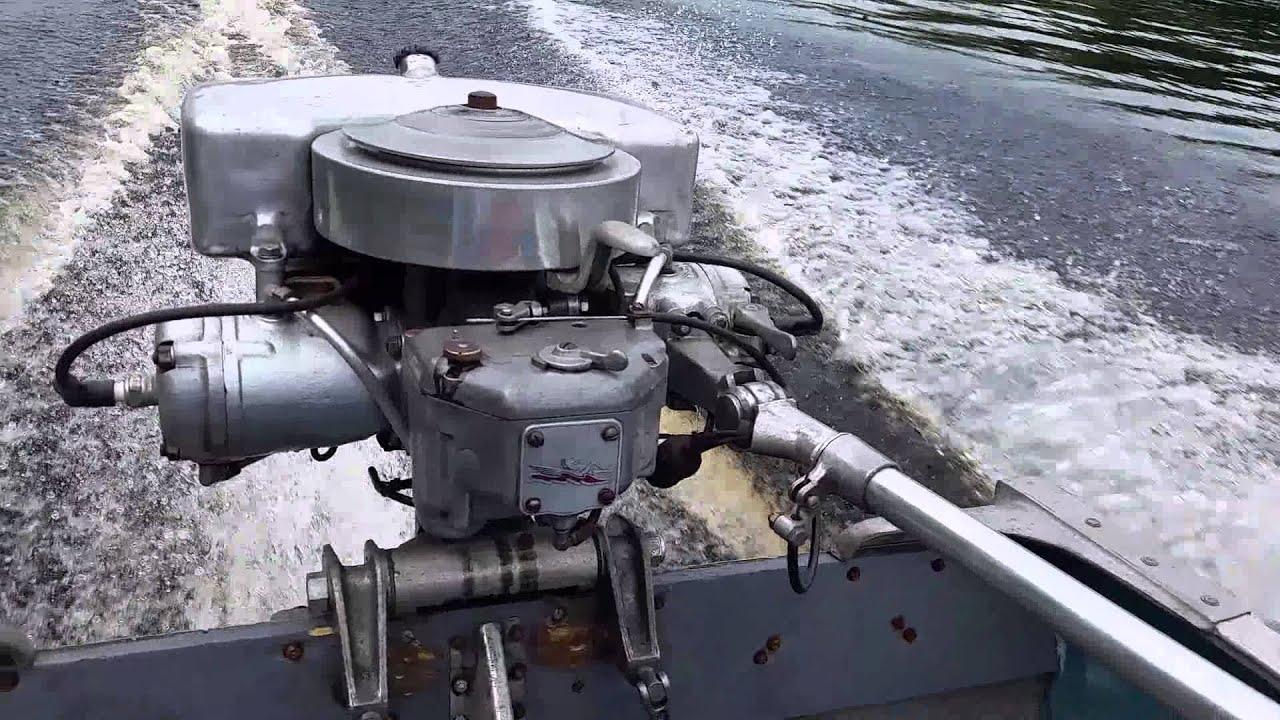 1939 johnson po 39 22hp antique outboard doovi for Johnson marine italia