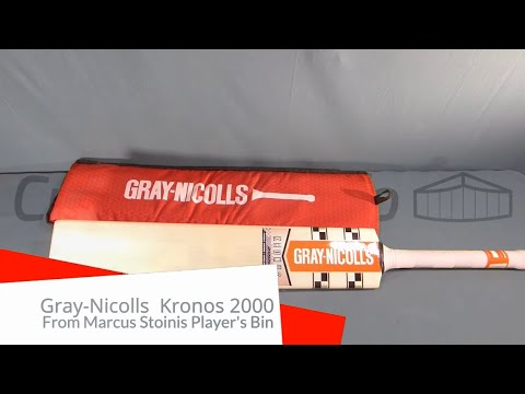 Marcus Stoinis Kronos 2000 Players Bat Review