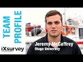 Team profile jeremy mccaffrey otago university  ixblue  marine survey specialists