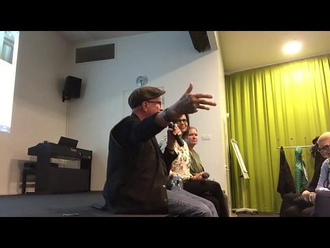 Q&A after War/Peace screening at University of Turku - Enhanced audio