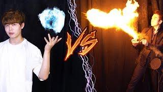 불 마술 VS 물 마술! 대한민국 최고의 불 마술사까지 등장! 과연 승자는?[니키X한영훈]  니키