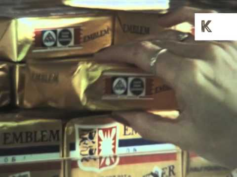 1970s Supermarket Shopping, US, Food, America Archive Footage