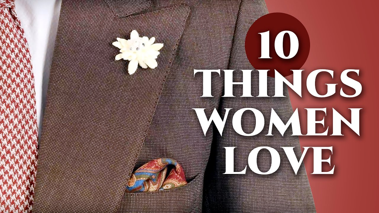649e05f8b 10 Things Men Wear Women Love - Gentleman's Gazette - YouTube