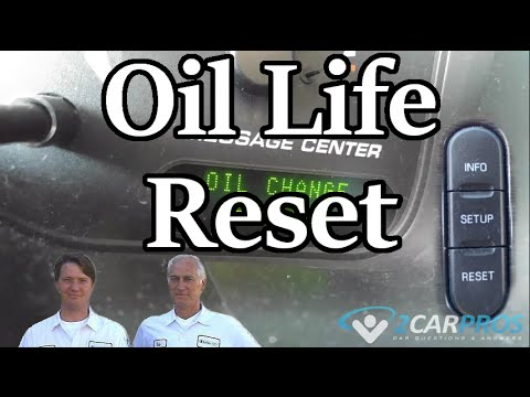 reset  oil life    ford freestyle foc doovi